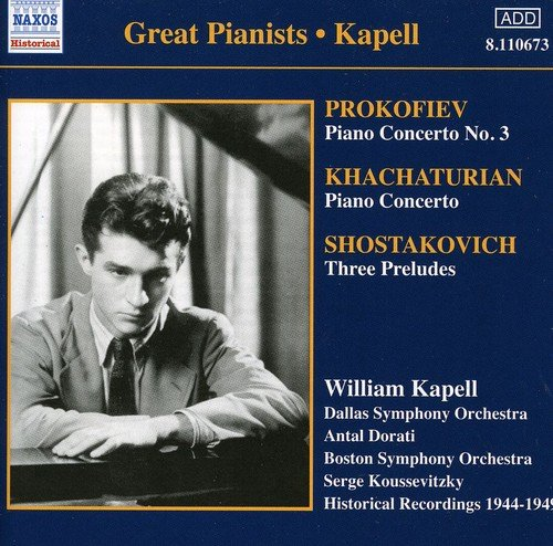 Concertos Pour Piano : Chostakovitch, Khatchaturian, Prokofiev