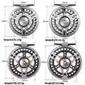 Goture Fly Fishing Reel Waterproof 2+1BB 3/4 5/6 7/8 9/10 with Diecast Aluminum Alloy Body