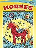 SPARK -- Horses Coloring Book (Dover Spark: Dover Coloring Books for Children)