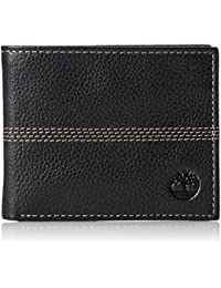 bdafd7acf540 NEW Genuine TIMBERLAND Mens Textured Leather Bifold Wallet (With Gift Box)  - D08389