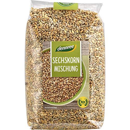 dennree Sechs-Korn-Getreide (1 kg) - Bio