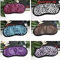 CAMTOA Guter Entspannung und Schlaf Augenmaske Schlafmaske Augenbinde Verstellbare Kopfband-Schlafen überall zu jeder Zeit (Farbe Random) von CAMTOA - Outdoor Shop