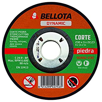 Bellota 50482-230 DISCO ABRASIVO DYNAMIC CORTE PIEDRA 230MM