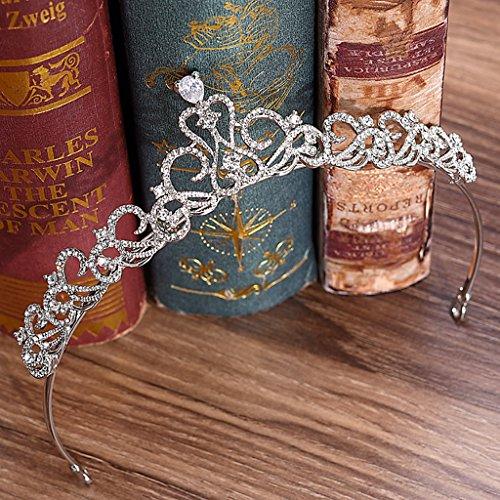 Mode Headwear Crystal Diamond Tiara Krone Exquisite Stirnband Kamm Pin Hochzeit Braut Geburtstag Tiarasd Kamm Pin Hochzeit Braut Geburtstag Tiaras ()