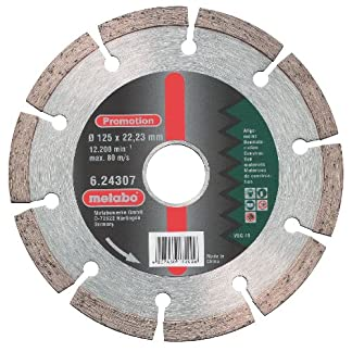 Metabo 624308000 624308000-Disco de Diamante SP para Uso General 150 x 22,23 mm Altura segmento 7 mm