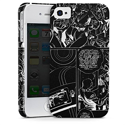 Apple iPhone X Silikon Hülle Case Schutzhülle Jan Tenner Fanartikel Merchandise Comicstyle Premium Case glänzend