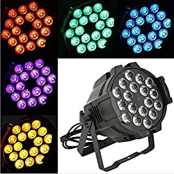 Led Par 18x15w Rgbwa 5in1 Led Par Stage Light Dmx Dj Lighting For Party
