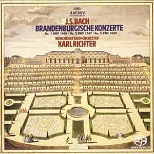 Bach:Brandenburg Concerto 1-3