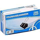 TTO Foldbackklämmor 25 mm, 12 st