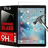 iPad Pro 9.7 Schutzfolie, iPad Air/iPad Air 2 Displayschutzfolie,Yica Gehärtetem Glas [Hohe Definition] [Bubble frei] [9H Härte] Displayschutzfolie Panzerglas für iPad Air/iPad Air 2/iPad Pro 9.7 Zoll