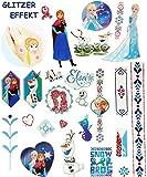 Unbekannt 25 tlg. Set: Große Haut Tattoo -  Disney die Eiskönigin - Frozen  - Hauttatt..