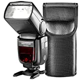 Neewer 2.4Gram Wireless 1/8000 HSS TTL LCD Display Master Slave Flash Speedlite