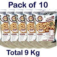 Non GMO U.S. Soyabean 1 Kg (Pack of 10)