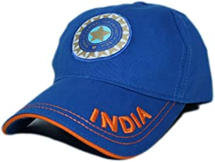 FAS Casual Sports Team India ODI T-20 Cricket Supporter Cap for Mens Cap