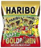 Haribo Saft-Goldbären Minis, 4er Pack (4 x 220 g Beutel)