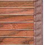 Casa Pura Bambus-Fußmatte, braun, rutschfest, hypoallergen, Natürlicher Bambus, braun, 50x80cm Vergleich