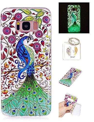 Preisvergleich Produktbild Hülle Samsung Galaxy S8 Plus TPU schutz silikonhülle, Weihnachtsgeschenke niedlichen cartoon bild transparent handy Hülle für Samsung Galaxy S8+/S8 Plus + schlüsselanhänger (* / 110) (5)