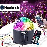 CHINLY LED Disco Kugel Licht MP3 Musik Bluetooth Lautsprecher USB Portable 9 Watt 9 Farben Modi Dance Hall Strobe Light Party Licht für Hochzeit Festival Bar Club DJ KTV (mit Fernbedienung)