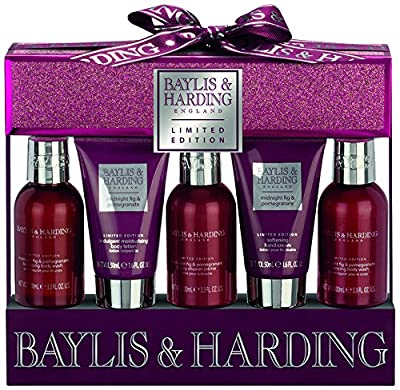 Baylis & Harding Midnight Fig and Pomegranate Set - 5 Piece