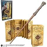 Harry Potter Baguette & Harry Potter Marauders Carte Collection complète | Authentique Merchandise | Ultime Cadeaux…