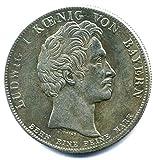 Münze 1828 Deutschland 1 Taler - Segen des Himmels - König Ludwig I. von Bayern REPLICA