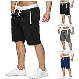 Shorts da Uomo Sportivi Pantaloncini Corti per Estate Jogging Fitness Pantaloni Casual Shorts Uomo Pantaloncini da Corsa con