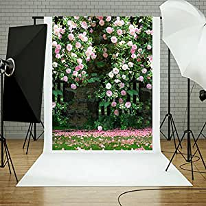 Zibuyu Flower Digital Photography Background Cloth for Photo Backdrops Decor