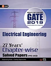 Gate Electrical Engineering (27 Year's Chapter wise Solved Papers) 2019