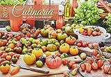 Culinaria 2019 - Der große Küchenkalender - Bildkalender (42 x 60 geöffnet) - Rezeptkalender - Küchenplaner
