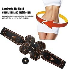 Abdominal Muscles, Training Muscle Abdomen Massager Lazy Belt belt Abdominal Equipment, Sports Fitness Equipment Home