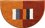 Erwin Müller Duschvorlage halbrund terracotta Größe 50x80 cm