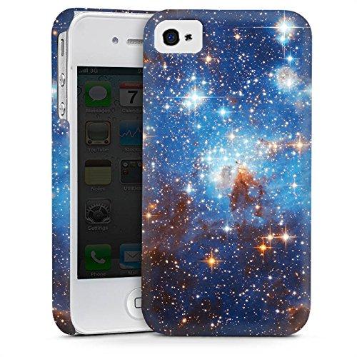 Apple iPhone 5 Housse étui coque protection Espace Galaxie Nuages de Magellan Cas Premium mat