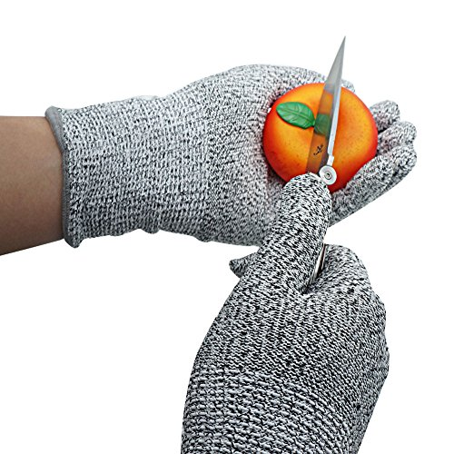 Xcellent Global Guantes Resistente Corte Uso Alimentación