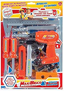 Rstoys - Ronchi Supe-Blister Taladro a Embrague con Herramientas,, 3.st10286