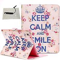 Schutzhülle für iPad 2/3/4 Leder Brieftasche,TOCASO Muster PU Leder Bookstyle Flip Case Wallet Cover Bunt Pattern... preisvergleich bei billige-tabletten.eu