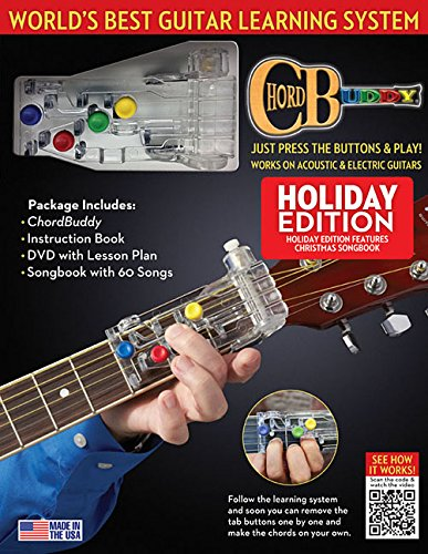 Chordbuddy Guitar Learning System: Holiday Edition