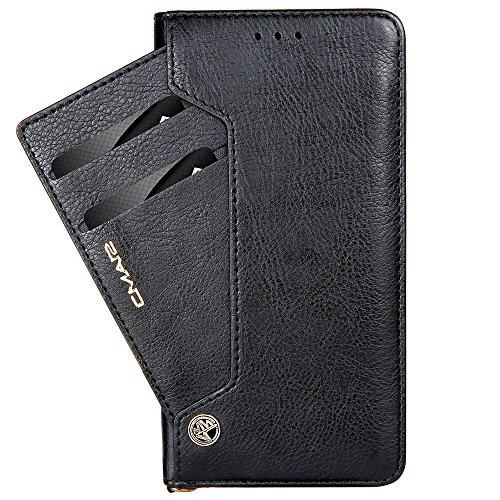 Funda cartera de iPhone X con una solapa para llevar tarjeta...