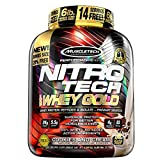 Muscle Tech Nitrotech Whey Gold (2.720g) Vanille-Nitrotech Whey Gold ist die Crème de la Crème an Whey-Protein!