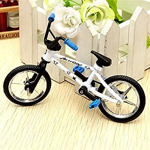 """Peradix 4.4"""" Finger Mountain Bike BMX Fixie Bicycle Boy Toy Creative Gift Workmanship"""