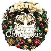 THEE Coronas Navideñas Decoración de Navidad Papá Noel Colgante Árbol de Navidad Colgante Adornos