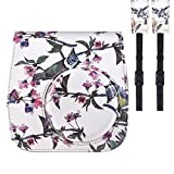 Andoer PU Fujifilm Instax Mini 8 +/8s/8/9 Taschen Schutz Instant Kamera Tasche Tasche Tasche mit Strap