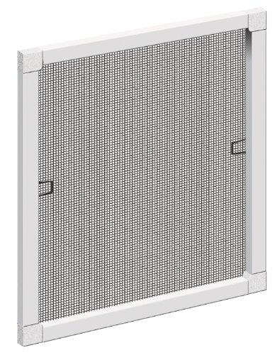 Schellenberg 50734 Insektenschutz-Fenster, weiß max. 120 x150cm