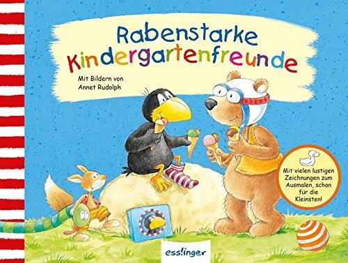 Preisvergleich Produktbild Kleiner Rabe Socke: Rabenstarke Kindergartenfreunde (Der kleine Rabe Socke)