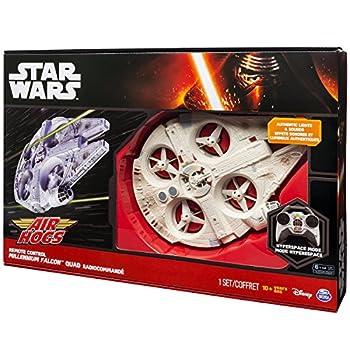 Air Hogs Star Wars: Episode Vii The Force Awakens Remote Control Ultimate Millennium Falcon Quad 2