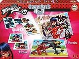 Prodigiosa: Las aventuras de Ladybug - Superpack, Juego de Mesa (Educa...