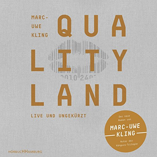 Buchseite und Rezensionen zu 'QualityLand: 7 CDs (helle Edition)' von Marc-Uwe Kling