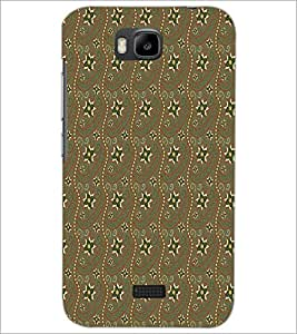 HUAWEI HONOR BEE STAR PATTERN Designer Back Cover Case By PRINTSWAG