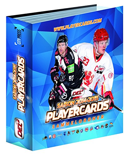 DEL Playercards Sammelordner - 2014/2015 (Yu Gi Oh Karten 2015)