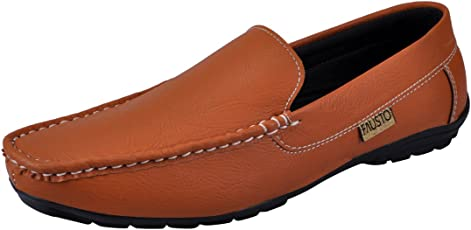 FAUSTO Men's Synthetic Loafers