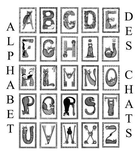 Livre L'Alphabet des chats pdf